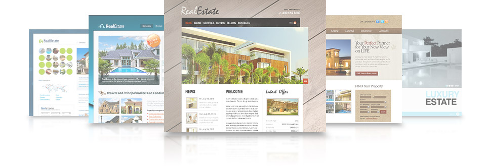 Your high quality real estate website will come with powerful features to help you meet your business goals, connect with clients and convert leads into sales